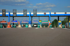 Road to toll Stock Images