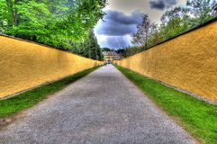Road to a tourist attraction in salzburg, austria Stock Photos