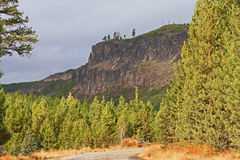 On the Road to Tumalo Falls Royalty Free Stock Images