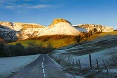 Road to Ungino mountain Stock Photo