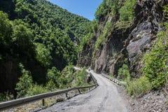 Road to Ushguli Royalty Free Stock Image
