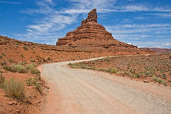 Road to Valley of the Gods Royalty Free Stock Photo