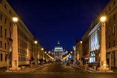 Road to the Vatican, Rome Royalty Free Stock Images