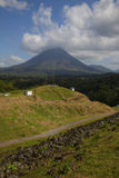 Road to the Volcano Stock Photo