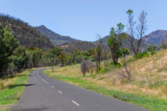 Road to Warrumbungle National Park Royalty Free Stock Photo