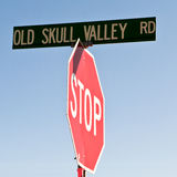 Road to where Old Bones Dwell Stock Image