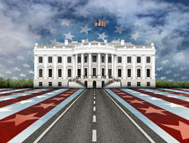 Road to the White House Stock Photo