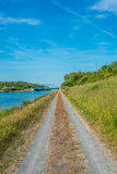 A road to the wild nature, Germany Stock Photo