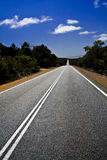 Road to William Bay. In South Australia Stock Photography