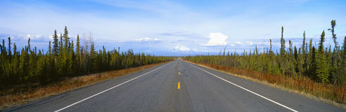 Road to Wrangell Stock Images