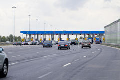 Road toll Stock Images