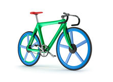 Road tour bicycle concept. My own design. Royalty Free Stock Images