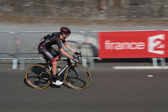 On the road of the Tour de France Stock Photos
