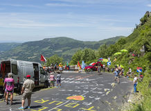 The Road of Tour de France - 2016 Royalty Free Stock Images