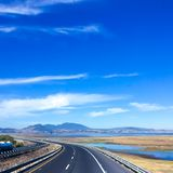 On the road royalty free stock photography