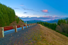 Road Towards Mt St Helen Royalty Free Stock Images