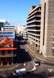 Road in town. Busy road in Port Louis, Mauritius Royalty Free Stock Photography