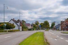 Town of Soroe in Denmark Stock Photography