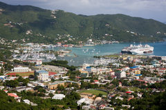 Road Town, Tortola Stock Image