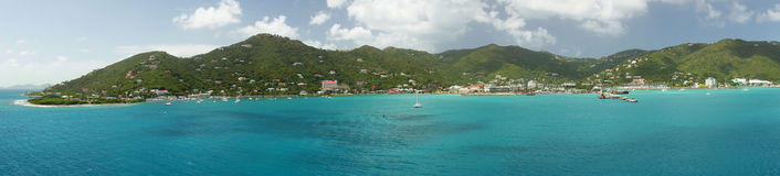 Road Town, Tortola, British Virgin Islands Royalty Free Stock Photography