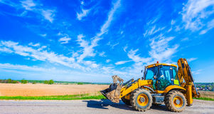 Road tractor Stock Photography