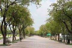 Walking street around Sanam Luang Stock Photo