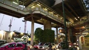 Road traffic in Bangkok, Thailand Royalty Free Stock Image
