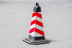 Road Traffic Barricades Stock Images