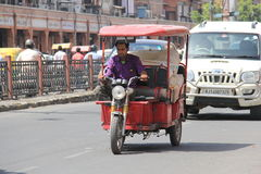 Road Traffic in India Stock Photos