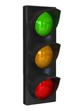 Road traffic light Royalty Free Stock Images