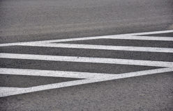 Road traffic marks Stock Photography