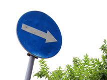 Road traffic sign Stock Photo