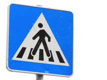 Road traffic sign Stock Images