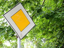 Road traffic sign Royalty Free Stock Photo