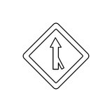 Road traffic signal with arrow Royalty Free Stock Photos