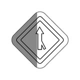 Road traffic signal with arrow Royalty Free Stock Photo