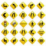Road traffic signals Stock Image