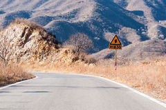 Road traffic signs Stock Images