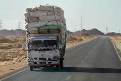 Road Traffic and Transport in Egypt Stock Images