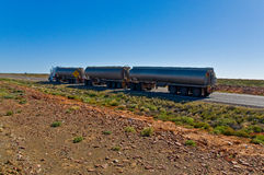 The road train Royalty Free Stock Photo