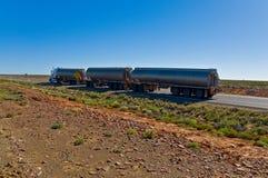 The road train Royalty Free Stock Photo