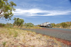 Road Train Royalty Free Stock Photo