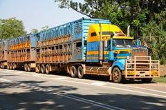 Road Train Stock Photography