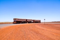 Road Train royalty free stock photography