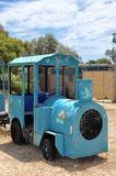 Road Train: Retro Blue Royalty Free Stock Photos