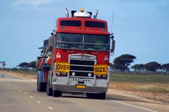 Road transport in Australia Royalty Free Stock Photo