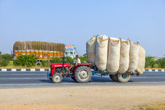 Road Transport in India Stock Image