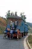 Road transport in Rwanda. Stock Photography