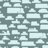 Road transport seamless  background. Repeating pattern car. Or Royalty Free Stock Photo
