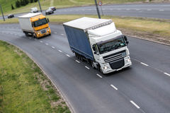 Road transport Stock Photography